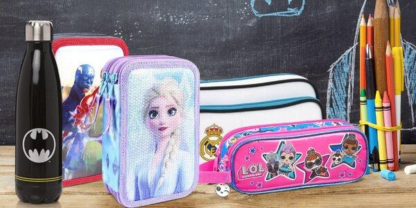 Školní potřeby s motivy Frozen II, Marvel i DC