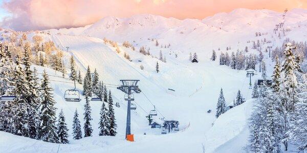 Autobusem na jednodenní lyžování do Julských Alp