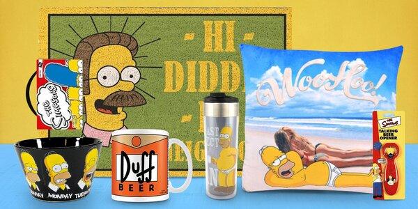 Dárkové suvenýry s motivy seriálu Simpsonovi