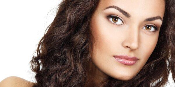 Kosmetická péče o obličej, krk i dekolt
