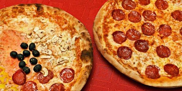 2 pizzy podle výběru v historickém centru