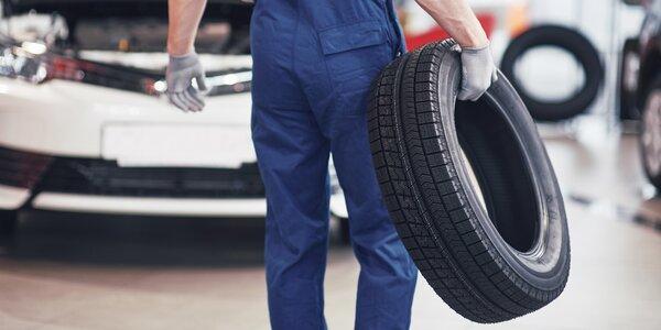 Výměna kol, přezutí pneumatik i prohlídka vozidla