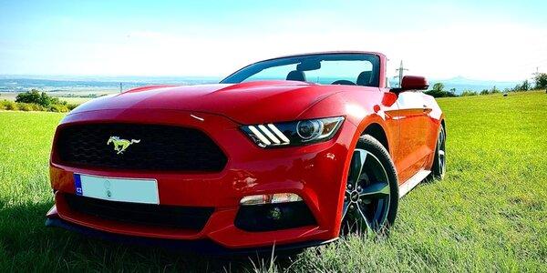 Ford Mustang: 20 min. řízení i pronájem na víkend