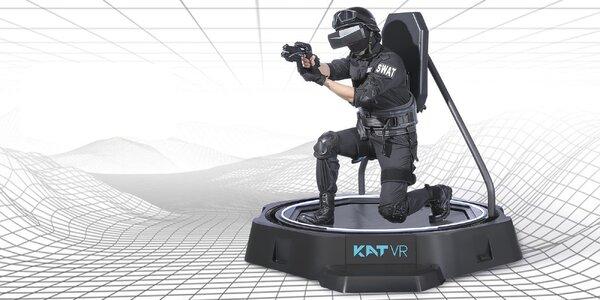 KAT VR Walk: 15-60 min. hry na pohybové platformě