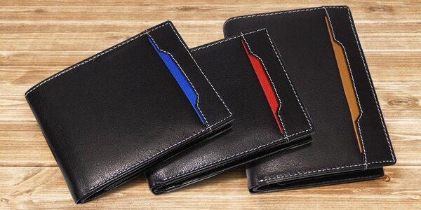 Pánské peněženky z pravé kůže: 10 variant
