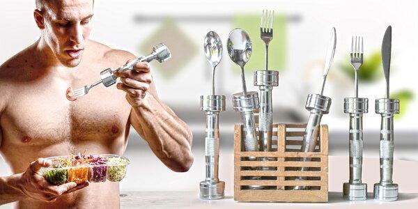 Posilujte při jídle s 1kg fitness příborem