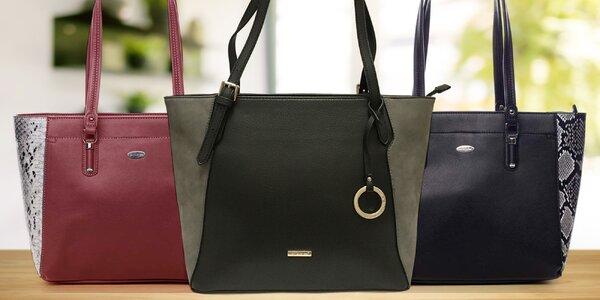 Prostorné kabelky David Jones do práce i na nákup