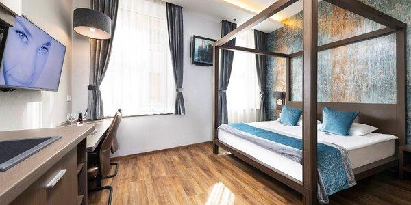 Butikový hotel v centru Budapešti: snídaně, sauna