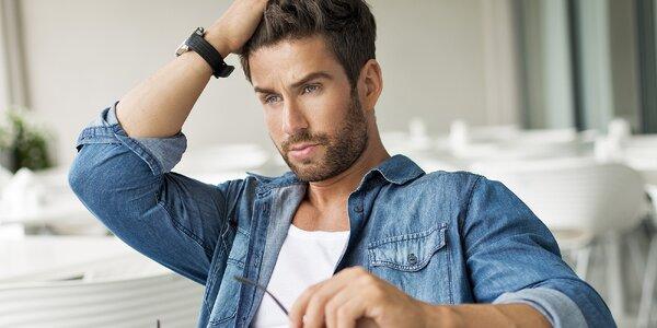 Vlasový servis pro pány: Střih se stylingem i masáží