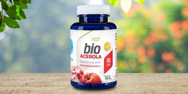 Bio výtažek z aceroly s vysokým obsahem vitamínu C