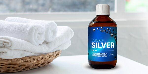 Ústní voda na bázi koloidního stříbra