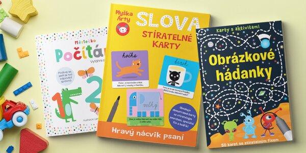 Naučné knížky a kartičky pro nejmenší i předškoláky