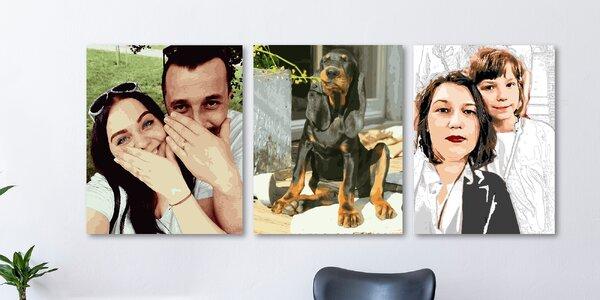 Obraz na vymalování podle vaší fotografie