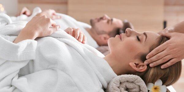 Dokonalý relax: výběr z 45min. párových masáží