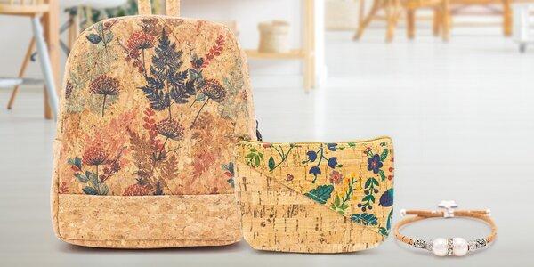 Peněženky, psaníčka i kabelky z ekologického korku