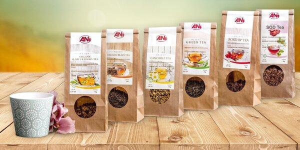 Bio čaje s houbu reishi: bylinkové, černé i zelené