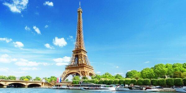 Jarní Paříž: letenka a 3 noci v hotelu