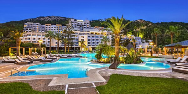 5* Sheraton Rhodos Resort, s polopenzí či plnou penzí