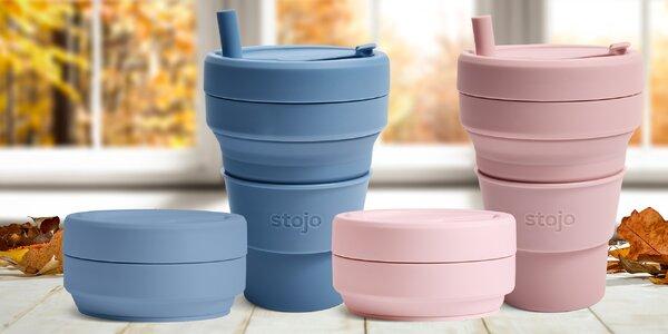 Obří skládací eko kelímek na kávu i polévku: 709 ml