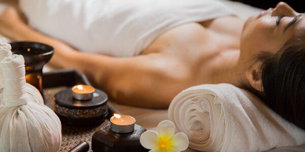 80–90 minut relaxace s luxusní masáží a lázní