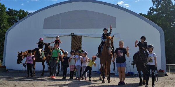 3hodinový workshop u koní pro děti od 5 do 12 let