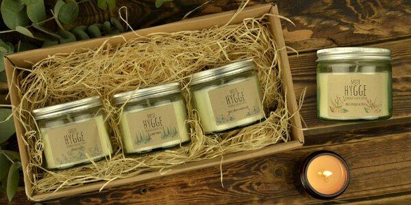 Sójové svíčky s aromaterapeutickými účinky