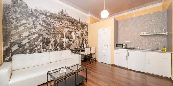 Romantika v Praze: krásné apartmány u Vltavy