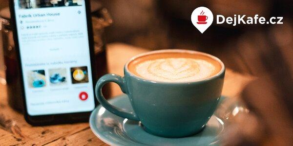 Členství v DejKafe.cz: až 30 káv a 43 kaváren