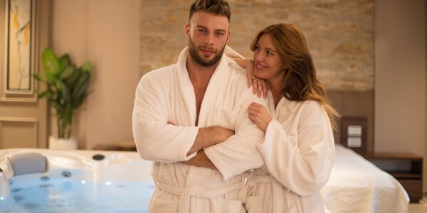 Privátní wellness: sauna, whirlpool i občerstvení