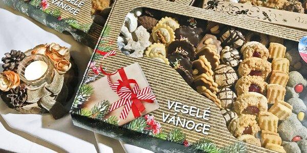 1 kg vánočního cukroví ze Šiklova mlýna + VIP vstupenka