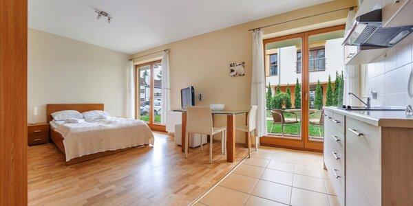 Vybavené apartmány na promenádě u polského Baltu
