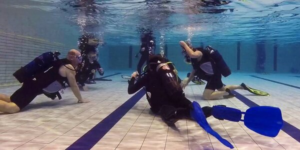 Kurz potápění na zkoušku včetně 1. ponoru