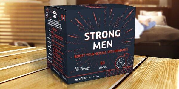Doplněk stravy na podporu mužské sexuální výkonnosti