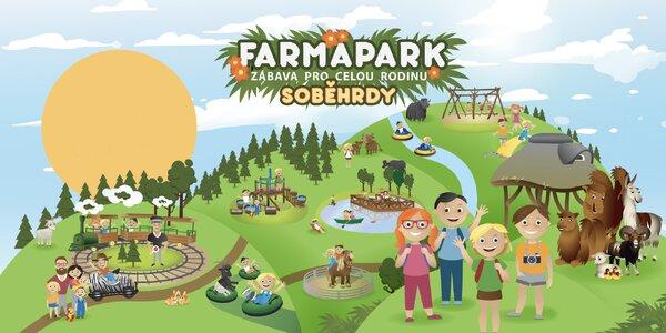 Vstupenky do Farmaparku na celou sezónu 2021