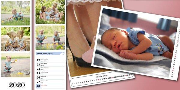 Nástěnné i stolní kalendáře z vlastních fotografií