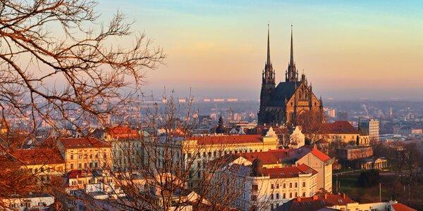 4* kongresový hotel v Brně se snídaní a fitness
