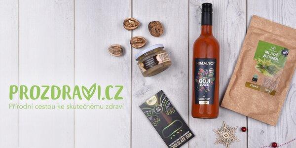 Poukazy do e-shopu Prozdraví.cz na 500 až 3000 Kč