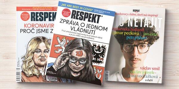 Roční předplatné týdeníku Respekt i s bonusy