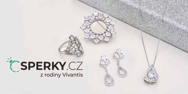 Poukazy do e‑shopu Šperky.cz na 500 až 3000 Kč