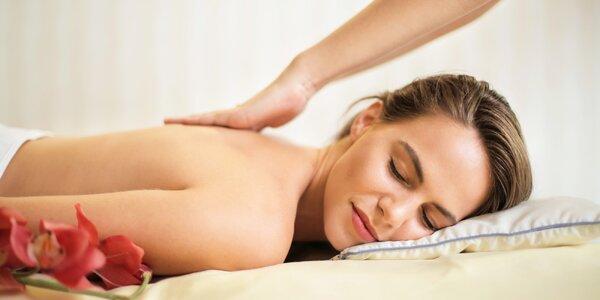 Dokonalá relaxační masáž zad a šíje nebo celého těla