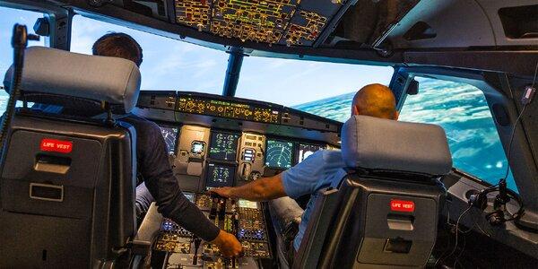 60 minut na leteckém simulátoru FNTP II pro 1 osobu