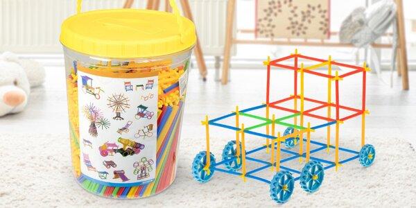 Slámkové stavebnice pro chlapce i dívky od 3 let