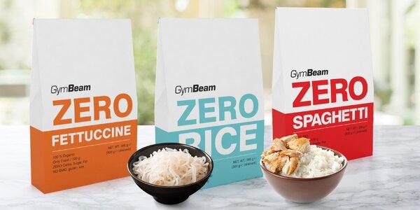 BIO konjaková nízkokalorická rýže i těstoviny