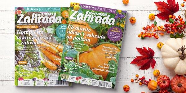Roční předplatné časopisu Zahrada prima nápadů