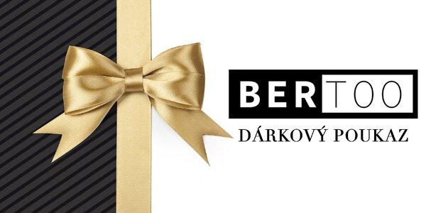 Dárkové poukazy do e-shopu Bertoo se značkovou módou