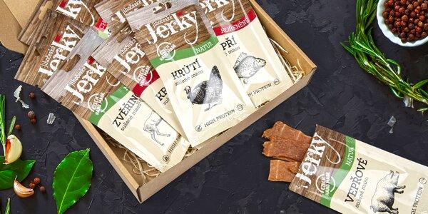 10 balíčků sušeného masa Jihočeské Jerky