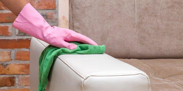 Čištění čalounění i kožených sedaček a impregnace