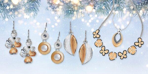 Krásné barevné náhrdelníky a náušnice Intrigue