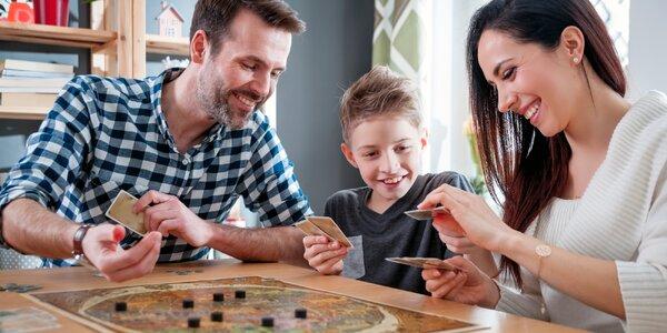 Zábava pro celou rodinu: půjčení až 3 deskových her