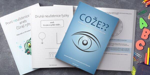 3 neučebnice fyziky: Čůrají ryby? a další otázky